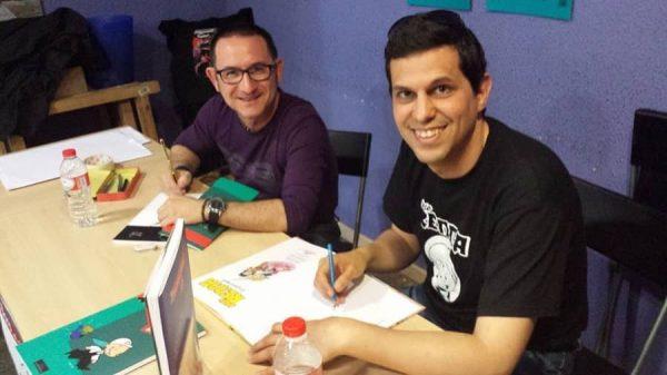 Amb Toni Cabo - Día del cómic gratis 2014