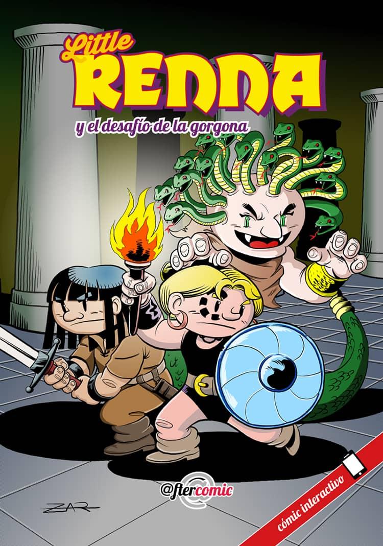 Portada Little Renna y el desafío de la gorgona