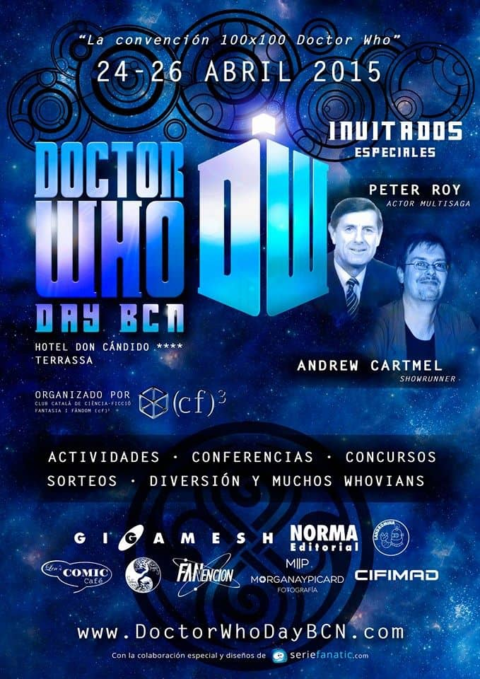 Cartel del Doctor Who Day