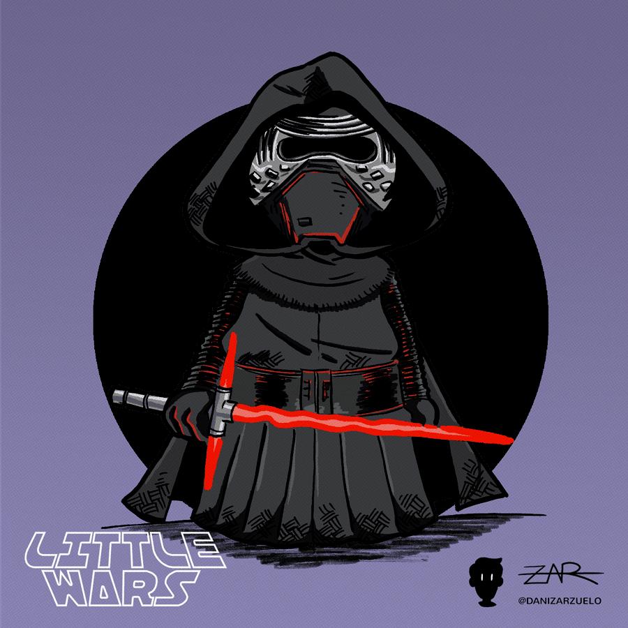 Kylo Ren - El resurgir de la fuerza - Star Wars