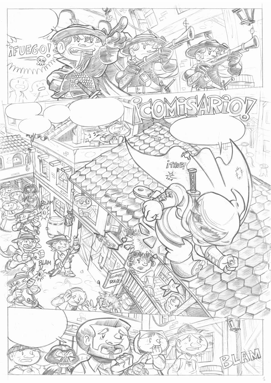 Lápiz - Águila Coja - 03 Página 01
