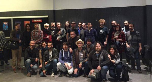 "Autores participantes en la exposición ""... I s'escriu SPIROU"" - Barcelona"