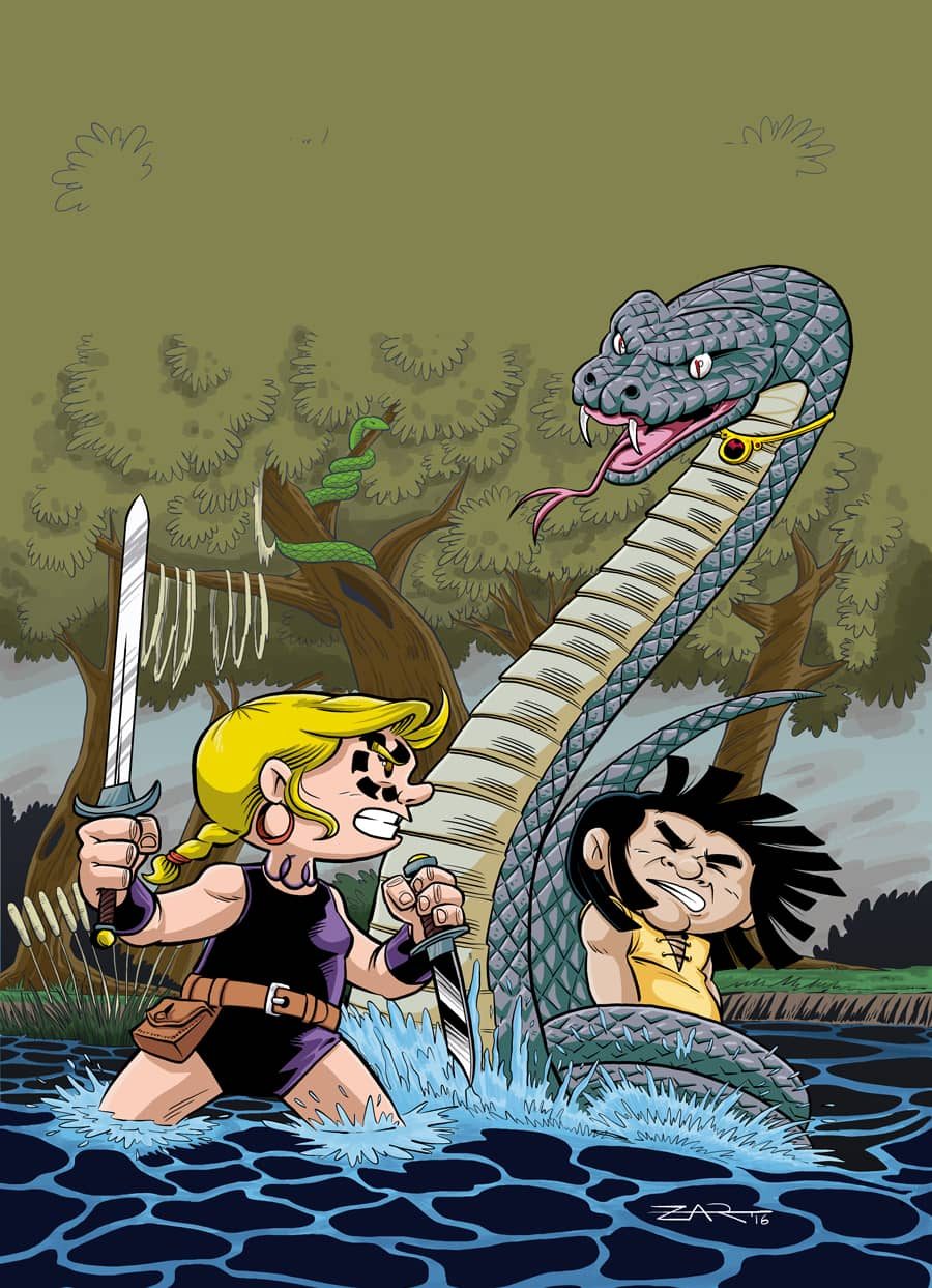 Portada - Little Renna y el Circo de los Dragones 01