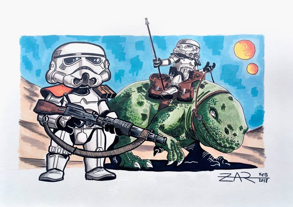 Sandtroopers - Star Wars