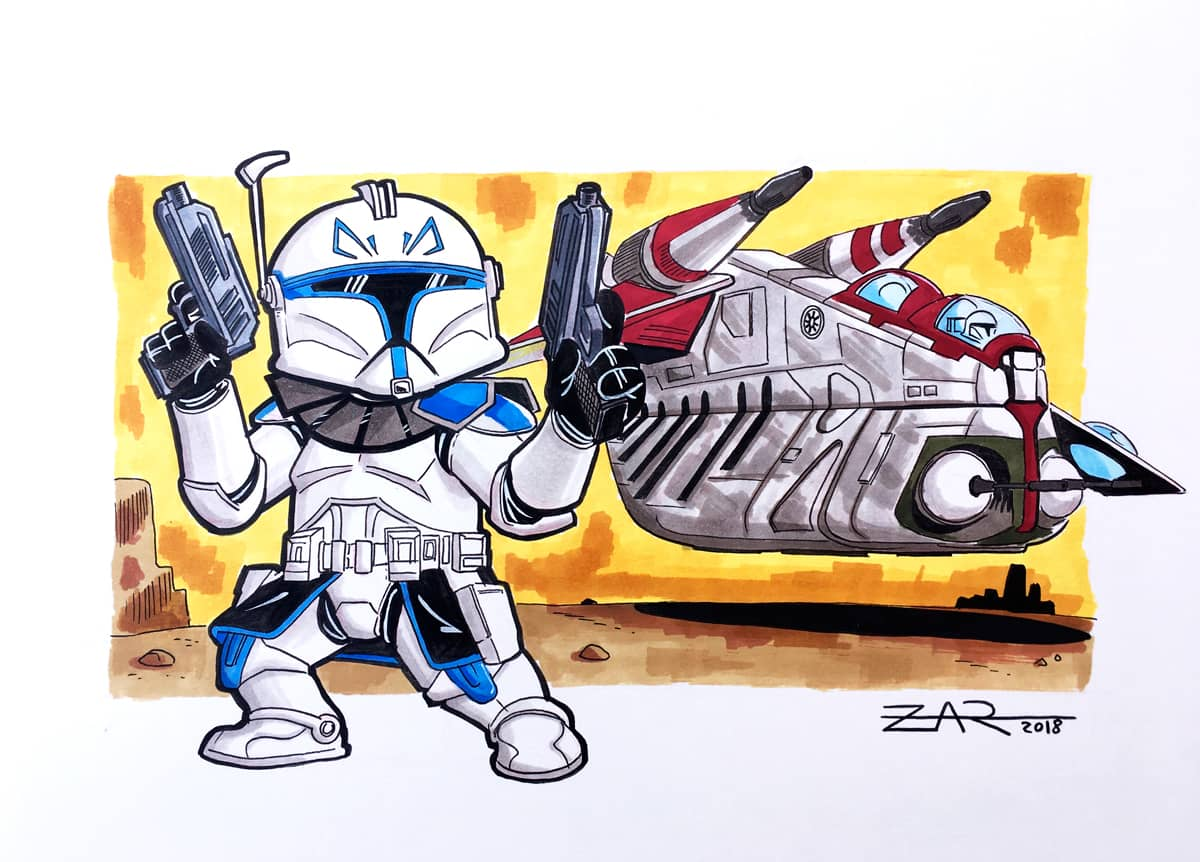 Captain Rex - Clone Wars