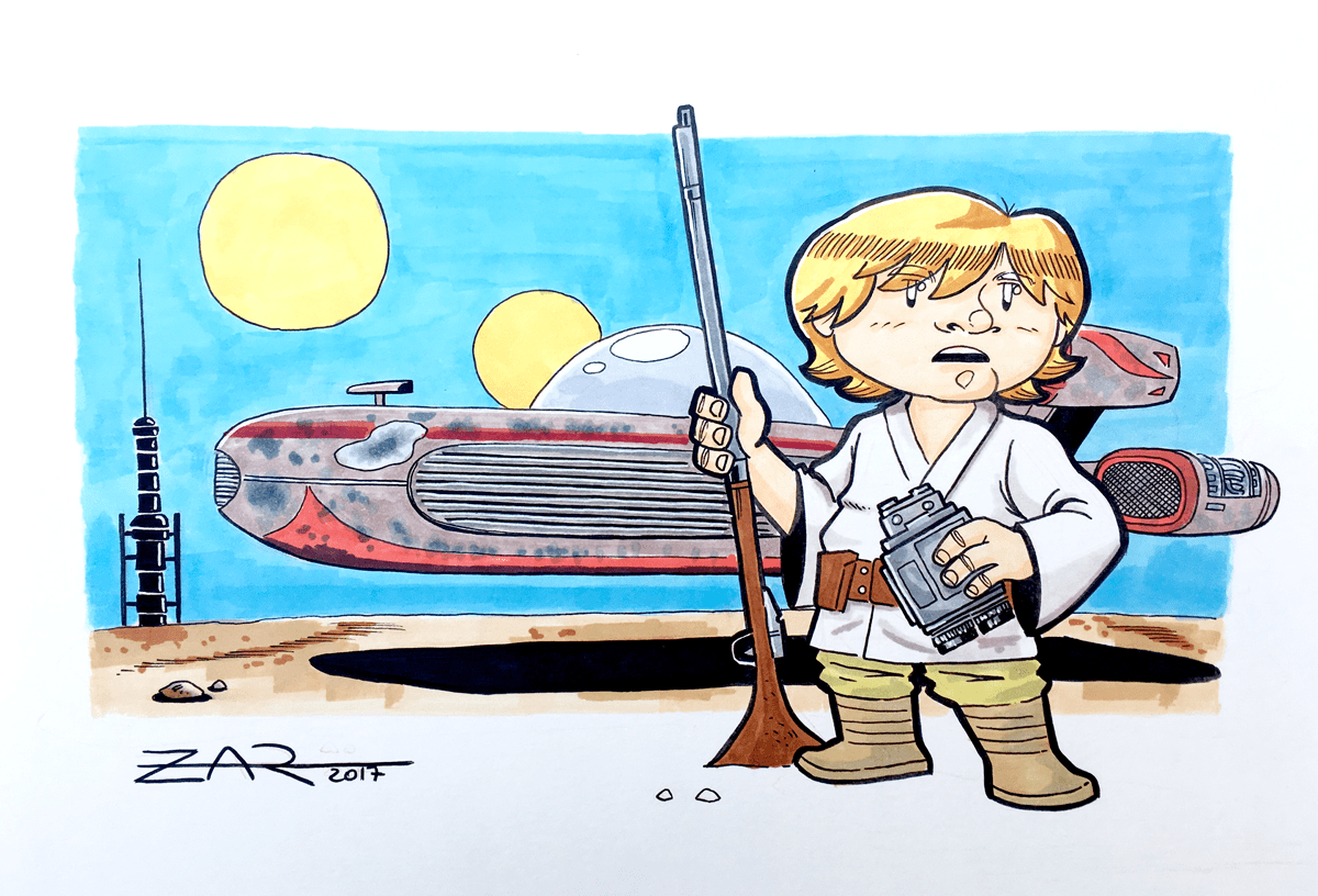 Luke Skywalker - Tatooine - Star Wars
