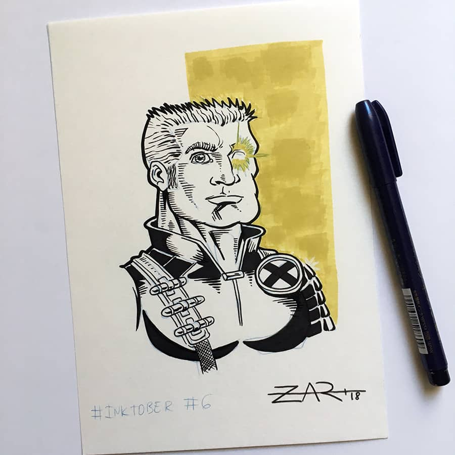 Inktober Cable