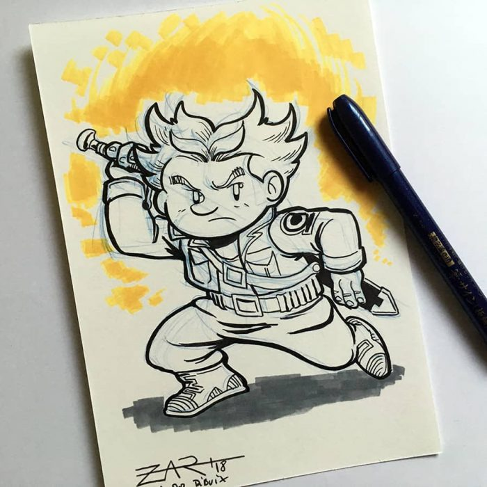 Inktober Trunks