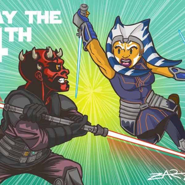 Maul contra Ahsoka - May the 4th - Clone Wars