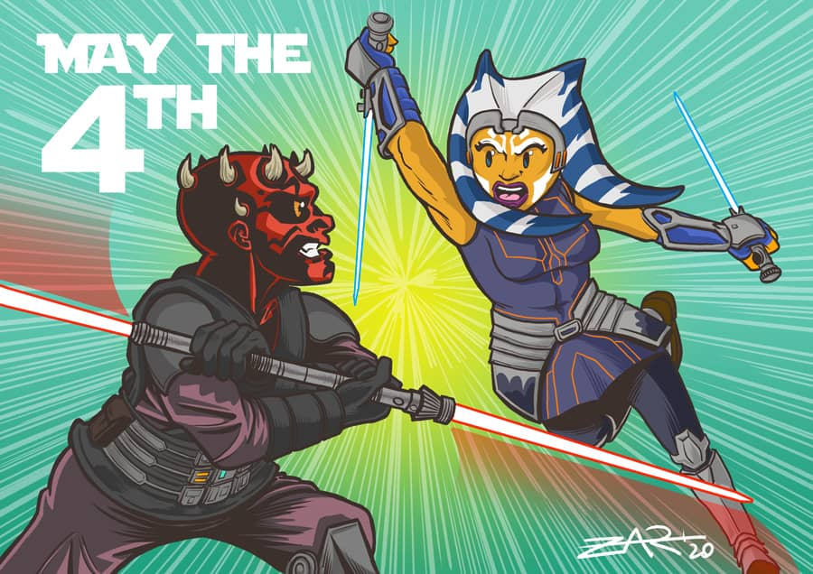 Maul contra Ahsoka - May the 4th